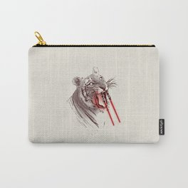 Light Saber Tooth Tiger Carry-All Pouch