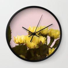Prickly Pear #1 Wall Clock
