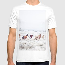 Winter Horses T-shirt