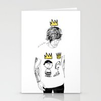 prince Stationery Cards featuring prince by otp-hedgefrog