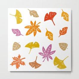 Autumn Leaves_G Metal Print
