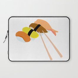 Minimalistic Sushi Design Laptop Sleeve