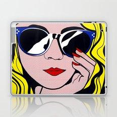 Pop Art Glamour Girl Laptop & iPad Skin