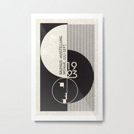 Bauhaus Exhibition Art Metal Print