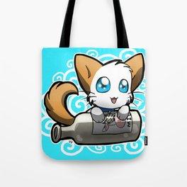 Zodiac Cats - Aquarius Tote Bag