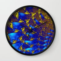 fractal Wall Clocks featuring Fractal. by Assiyam