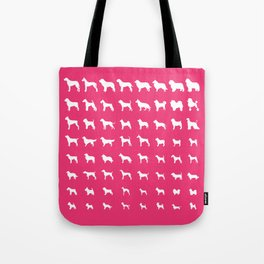 All Dogs (Pink) Tote Bag