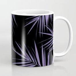 Palm Leaves Cali Finesse #5 #UltraViolet #Black #tropical #decor #art #society6 Coffee Mug