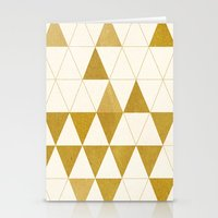 triforce Stationery Cards featuring My Favorite Shape by Krissy Diggs