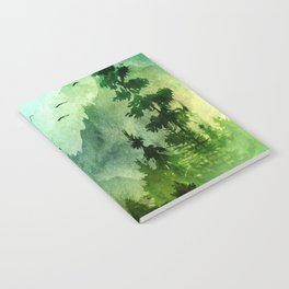 Mountain Morning Notebook