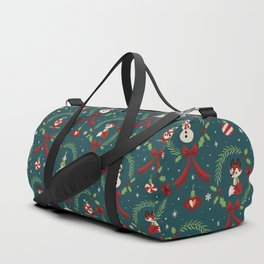 Winter Friends (Blue) Duffle Bag