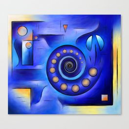 Grefenissa V1 - space art Canvas Print