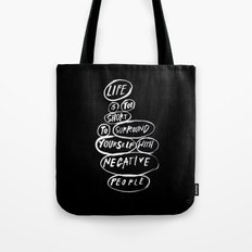 POSITIVE PEOPLE SURROUND SYSTEM Tote Bag