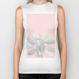 White Blush Cacti Vibes #1 #plant #decor #art #society6 Biker Tank