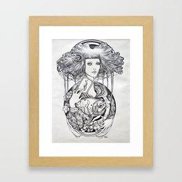 The Hanged Man Framed Art Print