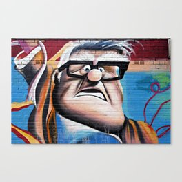 'Up' Street Art Canvas Print