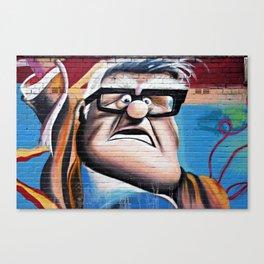 'Up' Street Art Canvas Print