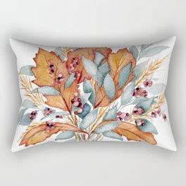Gold Leaf Rectangular Pillow