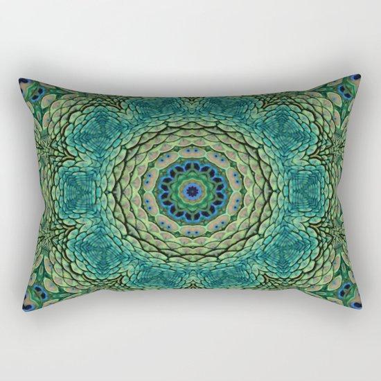 Shangri-La Mandala Rectangular Pillow