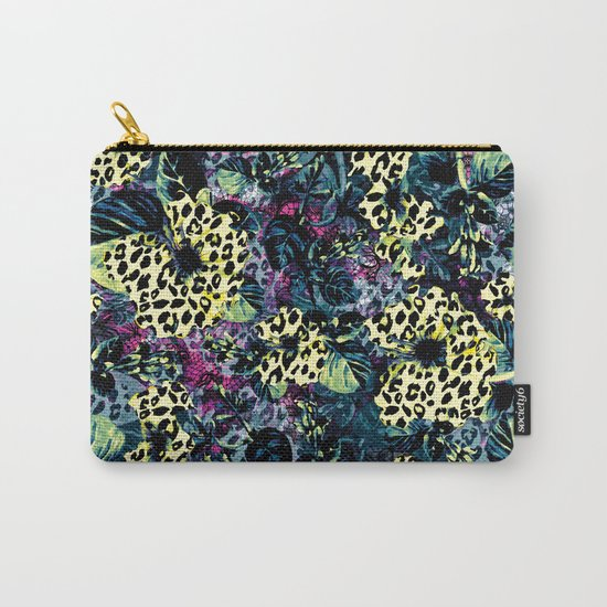 Golden Flowers II Carry-All Pouch