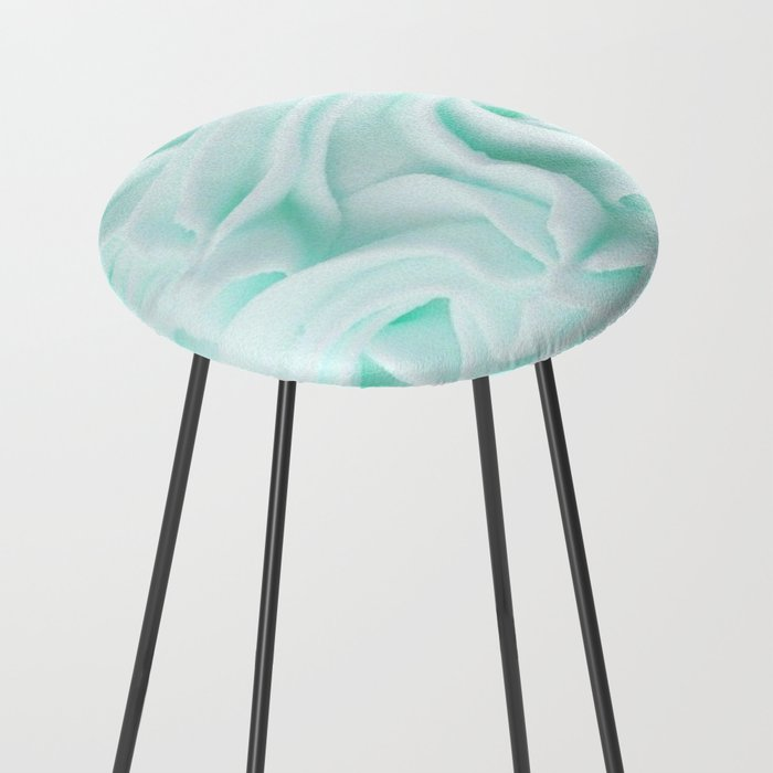Baby Blue Counter Stool By Kmahmeti Society6