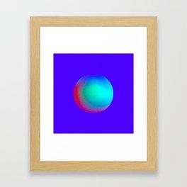 Gradient Study 03 Framed Art Print