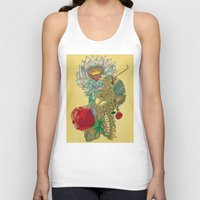 writer Tank Tops featuring The Writer by Theo Szczepanski