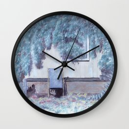 La chaise longue Wall Clock