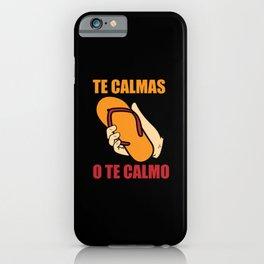 Spanish Mom Humor Joke Spaniard Gift iPhone Case
