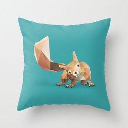 Squirrel. Throw Pillow