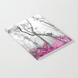 Princess Pink Forest Garden Notebook