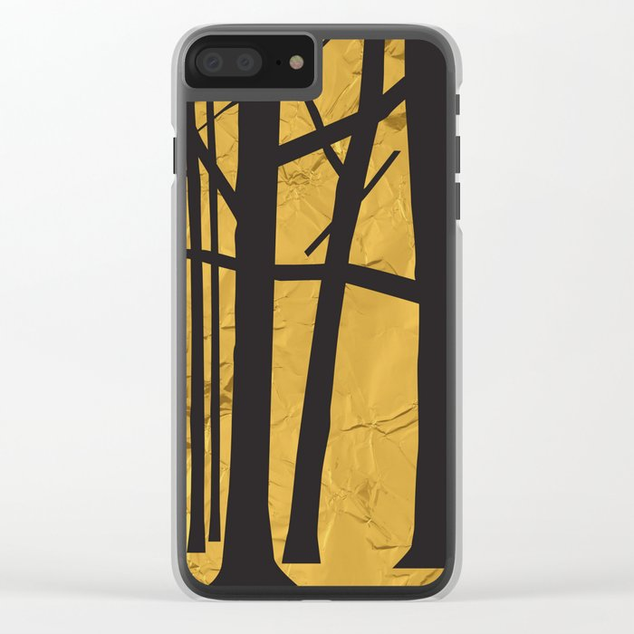 Give the trees as a gift Clear iPhone Case
