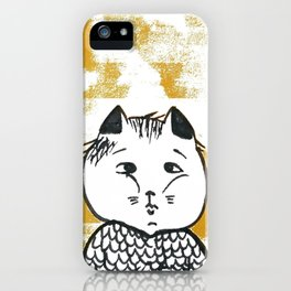 Kitty cat baby iPhone Case