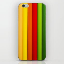 Pencil Crayones iPhone Skin