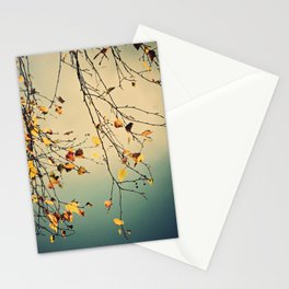 A poem from nature Stationery Cards