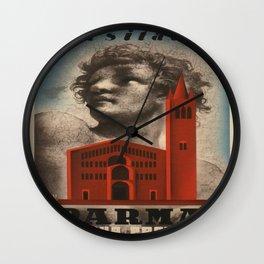 Vintage poster - Parma Wall Clock