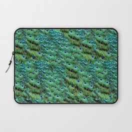 Peacock Feather Waterfall Laptop Sleeve
