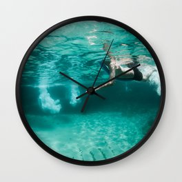Jeux sous marins / Underwater games Wall Clock