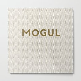 Mogul Metro Metal Print