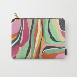 Psychedelic pattern 04 Carry-All Pouch