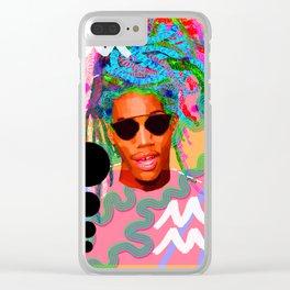 Aquarius (Man) Clear iPhone Case