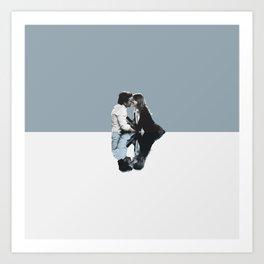 Derek and Meredith Art Print