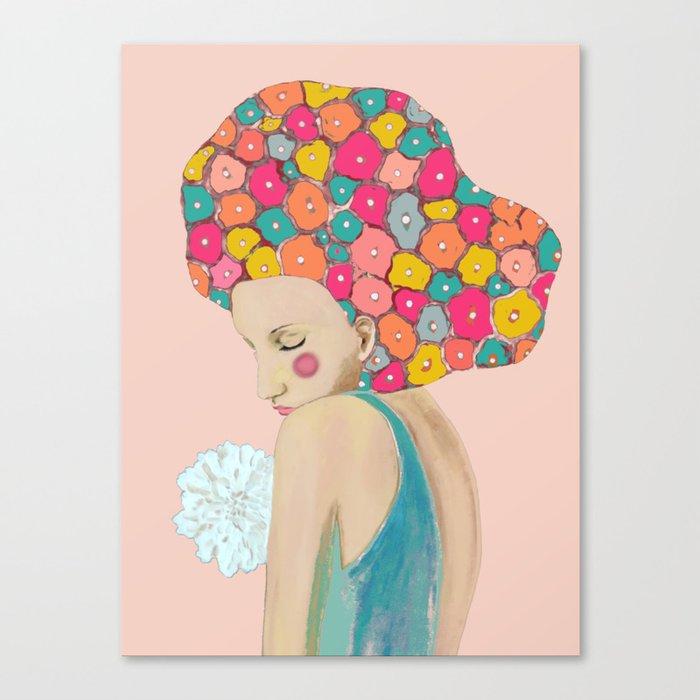 martine Canvas Print