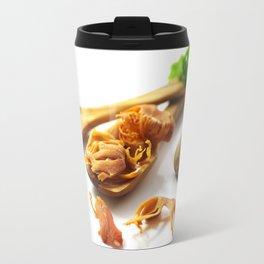 The flower of nutmeg Travel Mug