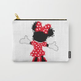 Minnie Mouse Paint Splat Magic Carry-All Pouch