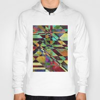 the fault Hoodies featuring Fault Lines by Klara Acel