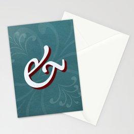 Minion Pro Italic Ampersand Stationery Cards