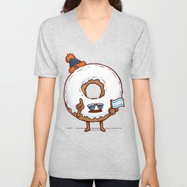 The Chicago Donut Unisex V-Neck