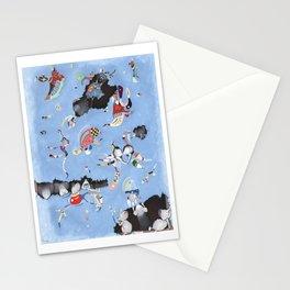 Mice eat a Kandinsky Stationery Cards