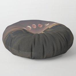 Blood Moon Eclipse, UK Floor Pillow